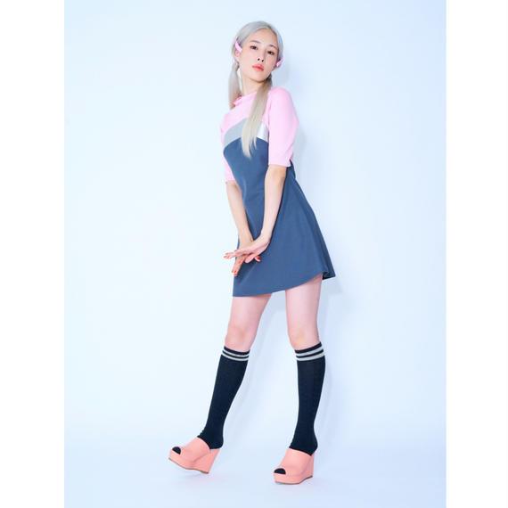 シルバーアーチラインドレス