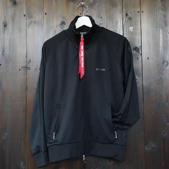 W-Zip Lines Jersey /ダブルジップラインジャージ(Black × Black/ブラック × ブラック)