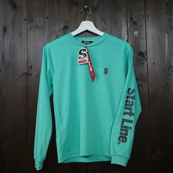 StartLine Active Long T-shirt/アクティブロングTシャツ(Green/グリーン) ウィメンズ限定カラー