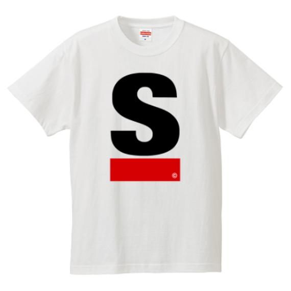 S Logo active T-shirt(White)