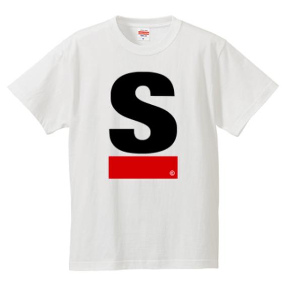 S Line Logo active T-shirt(white)