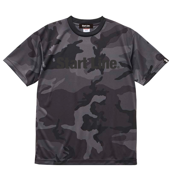 Black Camo Active T-shirt