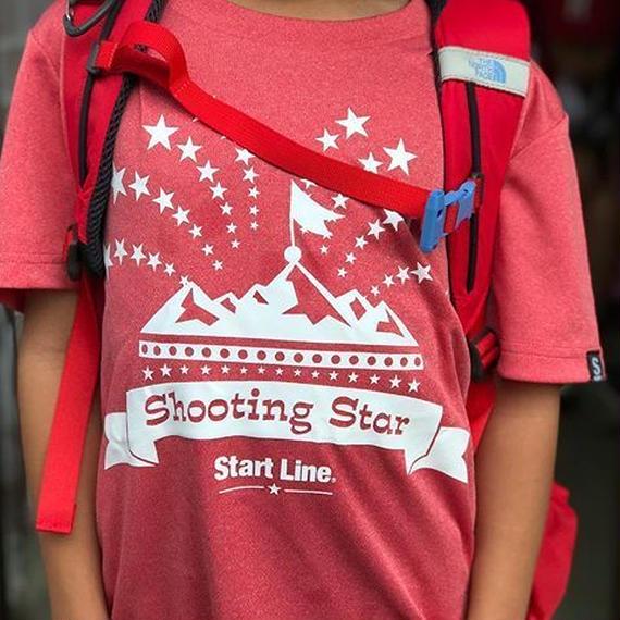 【残り1点】Shooting Star T-shirt/シューティングスターTシャツ(Red/レッド)キッズ