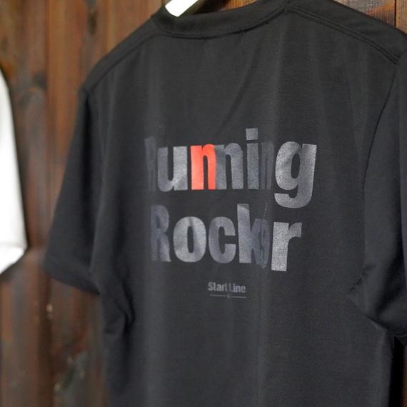Running Rocker Pocket T-shirt/ランニングロッカーポケットTシャツ (Black/ブラック)