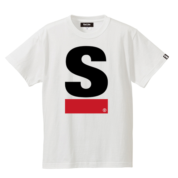 Big S Active T-shirt(White)