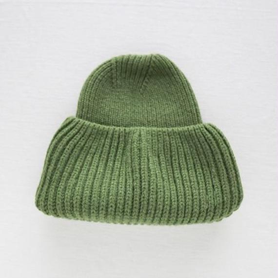 Mary Callan ニットハット / green