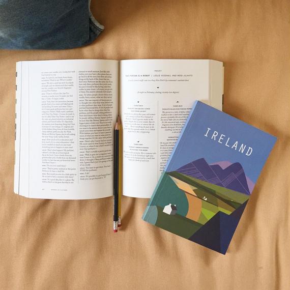 Ursula Celano A5ノートブック/Ireland
