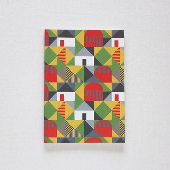 Ursula Celano A5ノートブック/ red barns