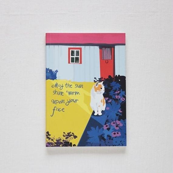 Ursula Celano A5ノートブック/ sun shine