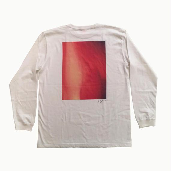 """into the light"" tee 【Long Tshirt】"
