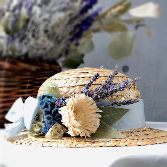 麦わら帽子の壁掛け【Straw Hat interior】