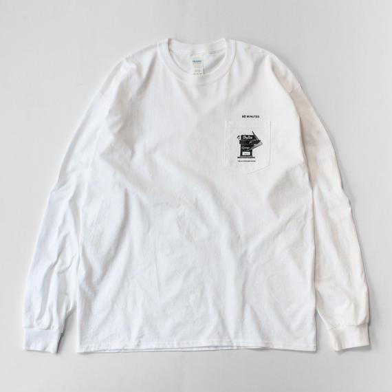 180 Atomosphere  L/S tee (White)
