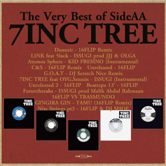 7INC TREE – The Very Best of Side AA