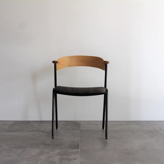 danis short arm chair NA - chacole mosh brown -