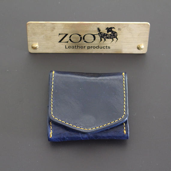 ZOO - COIN CASE - NAVY