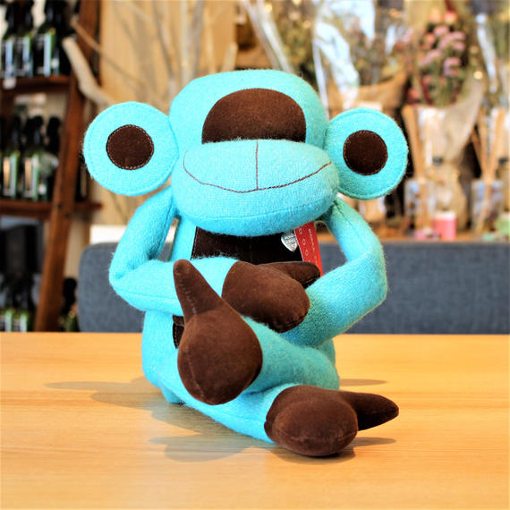 MONKEY DOOR STOPPER(L) -BLUE-