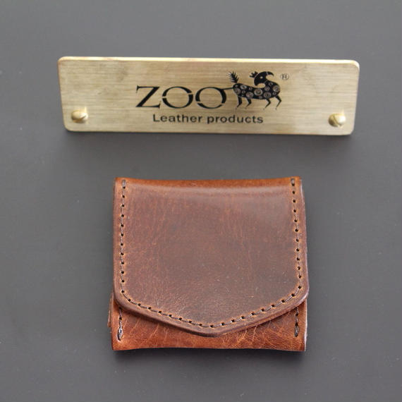 ZOO - COIN CASE - BROWN
