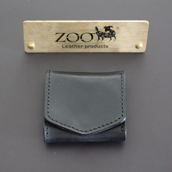 ZOO - COIN CASE - BLACK