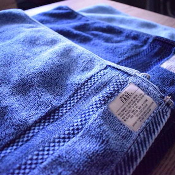 FADE DENIM -BATH TOWEL (L)-