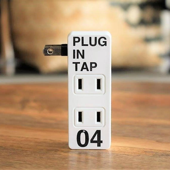 PLUG IN TAP SET -WHITE-