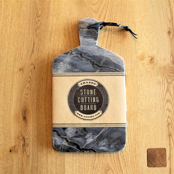 STONE CUTTING BOARD  Marble Gray