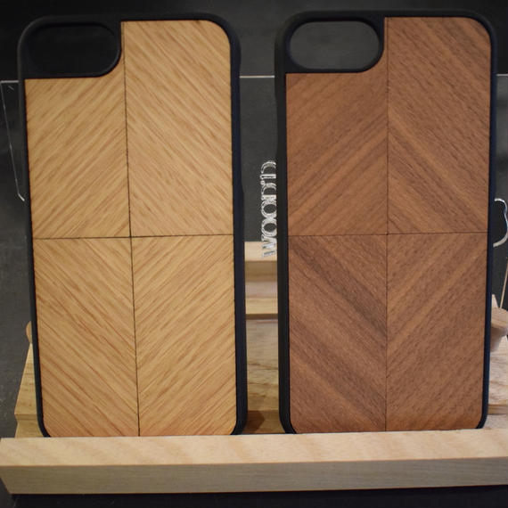 WOOD'D iPhone Case  Walnut/Oak