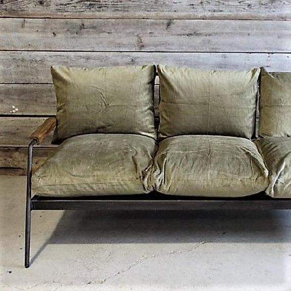 socph sofa 3sheet -olive khaki corduroy-