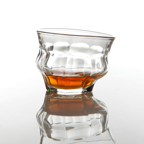 TIPSY GLASS -CLEAR-