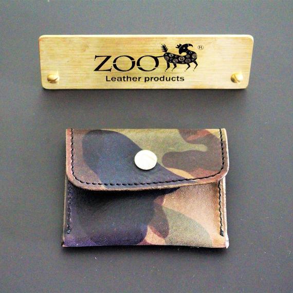 ZOO - COIN CASE - CAMOUFLAGE  KHAKI