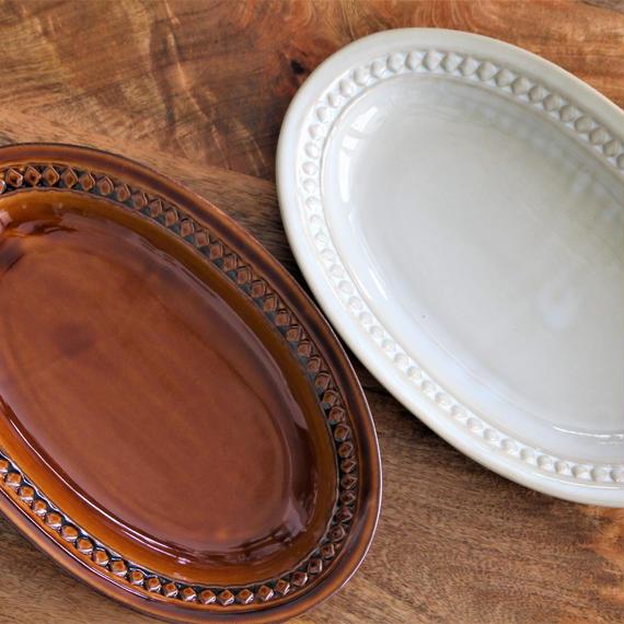 Scandinavia Oval plate