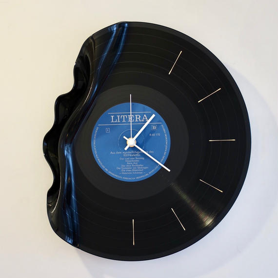 Waning  Wall Clock  【foil stamp type.1 】