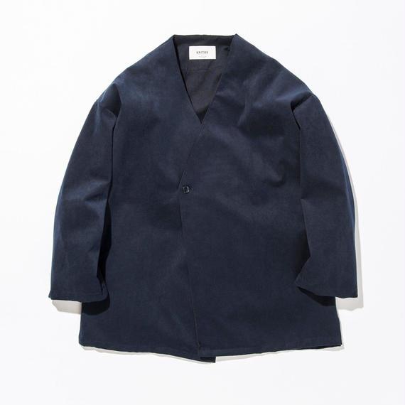 UNITUS(ユナイタス) SS17 Shirts Cardigan (Fake Suede) Navy