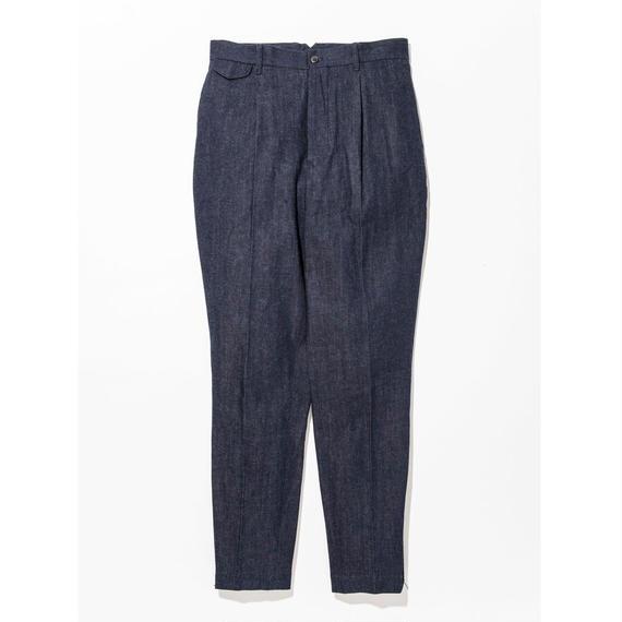 UNITUS(ユナイタス) SS17 Denim Peg top Pants with side zip