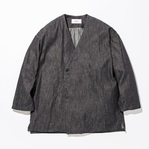UNITUS(ユナイタス) SS17 Denim Shirts Cardigan Indigo