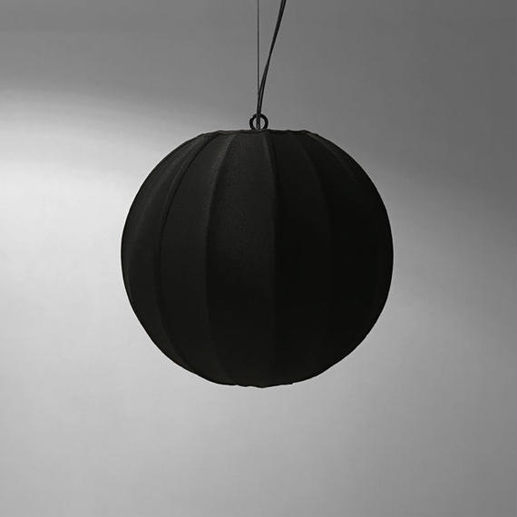 NEOMING FABRIC PENDANT LAMP ''OVAL w/WIRE'