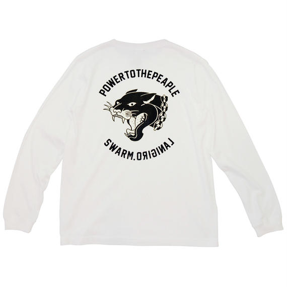 BLACK PANTHER L/S Tee(WH)