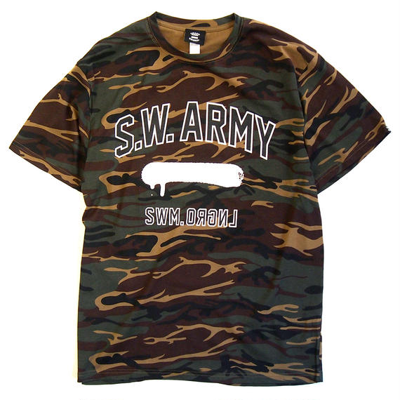 S.W.ARMY Camouflage Tee