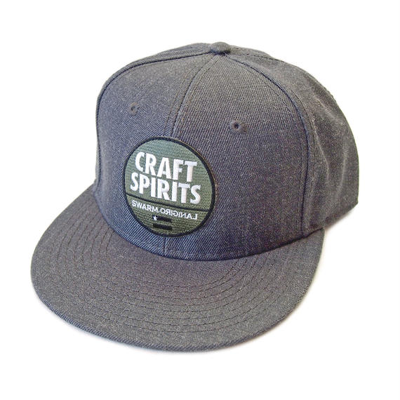 CRAFT SPIRITS フラットバイザーキャップ(GRAY)