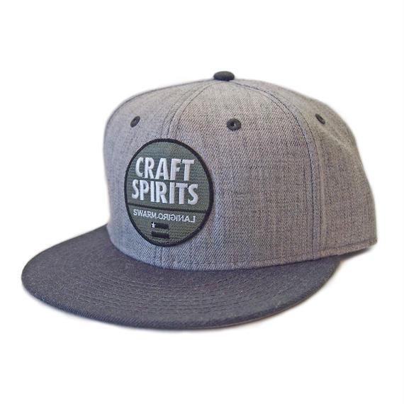 CRAFT SPIRITS フラットバイザーキャップ(Light GRAY)