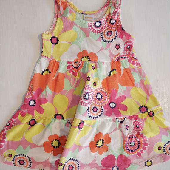 【GYMBOREE】   wide flower dress