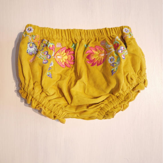 【children of the tribe】  corduroy embroidery bloomers