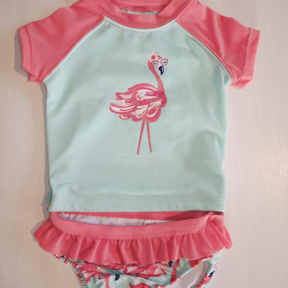 【GYMBOREE】     flamingo rashguard set up