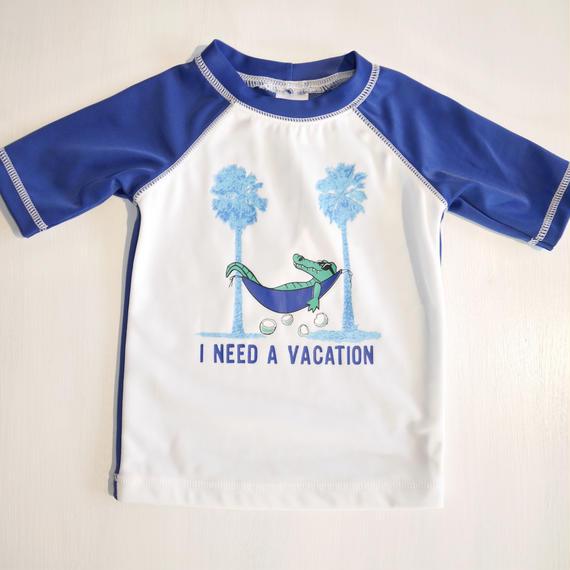 【GYMBOREE】    I need a vacation rash guard