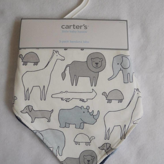 【carter's】スタイ3点set navy color