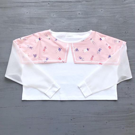 夏に着る長袖Tシャツ / PINK