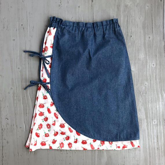 エプロンスカート / RED
