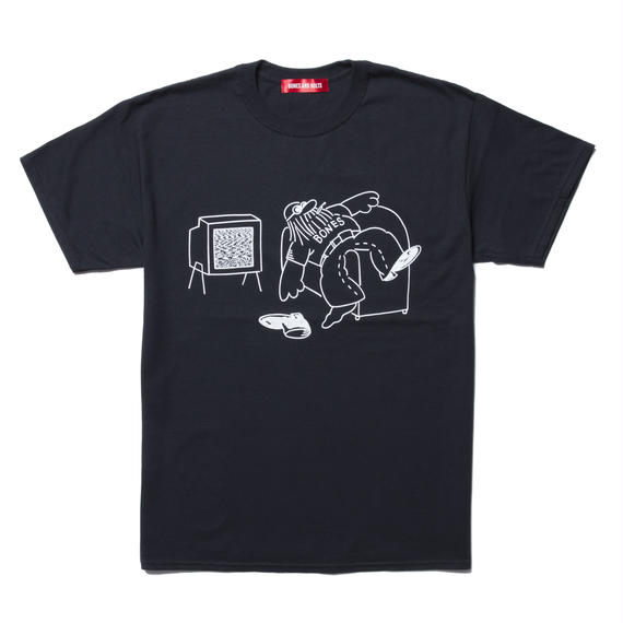 TEE (DOWN NOT OUT) BLACK