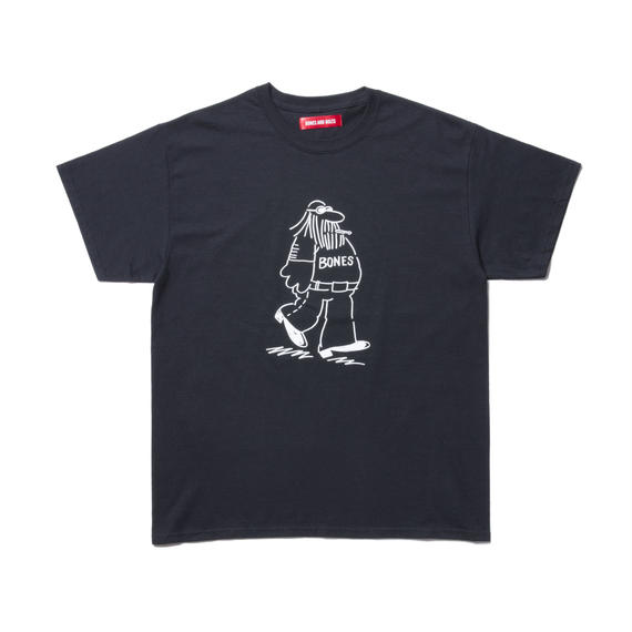 TEE (COMING AND GOING) BLACK