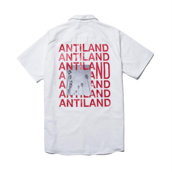 WORK S/S SHIRT (ANTILAND) WHITE