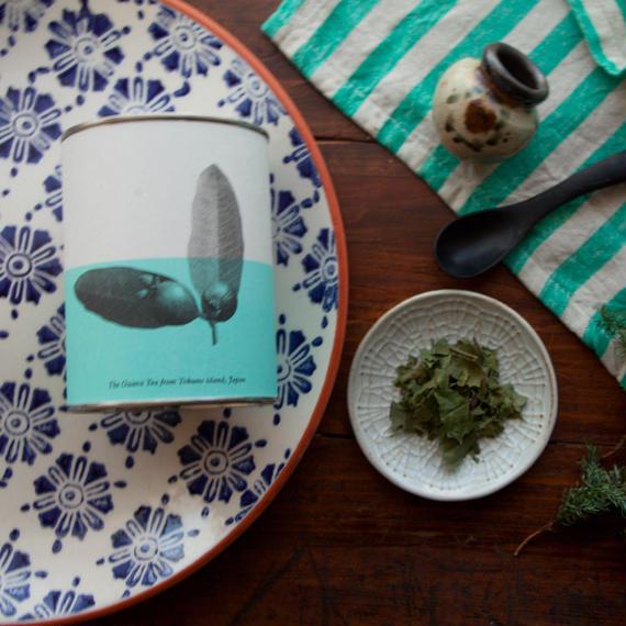 徳之島の夏越しのリセット南国グァバ茶(リーフ/缶)